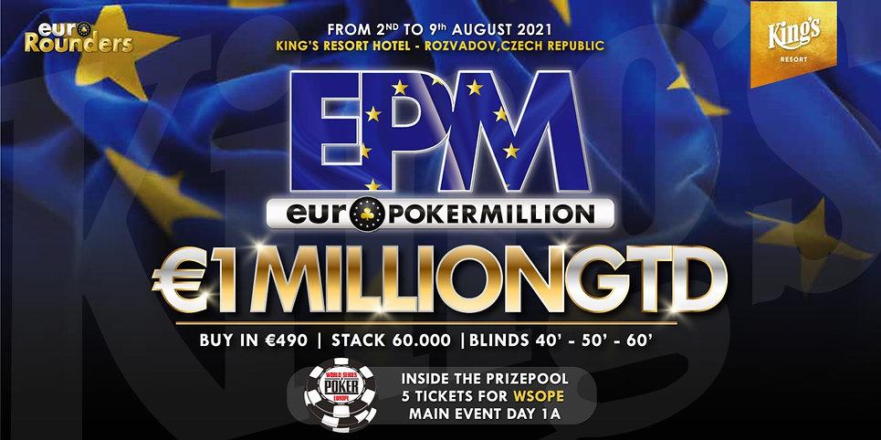 EPM EURO POKER MILLION 2021 COPERTINA.jp