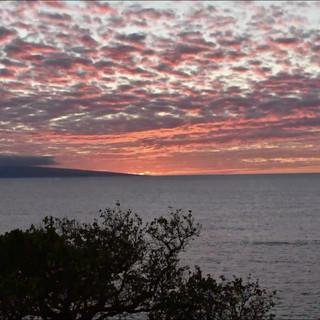Time laps sunset