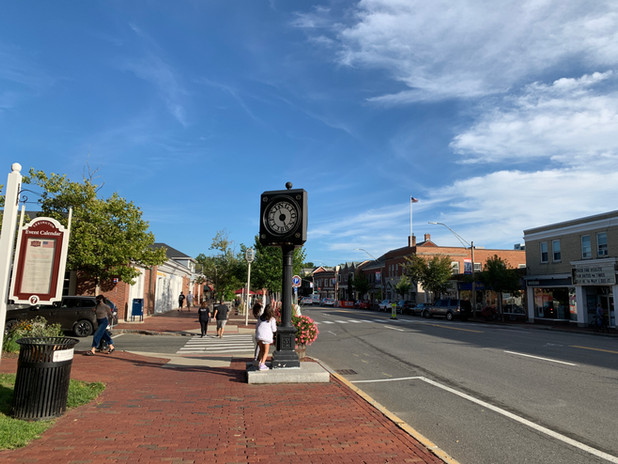 Lexington 300th Town Clock  pc/jgs