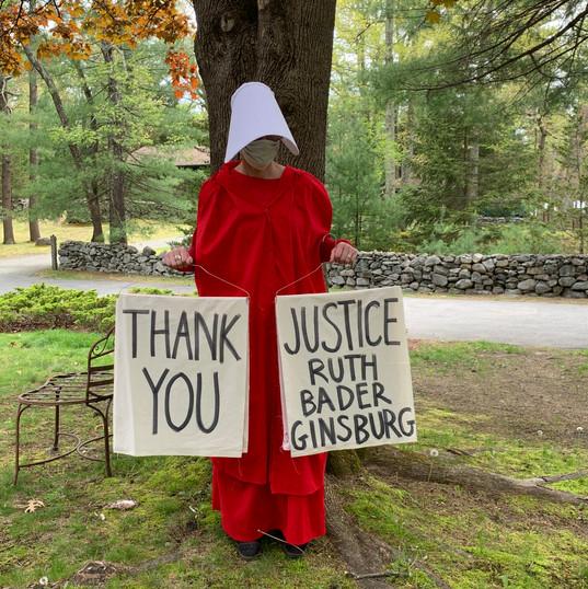 Thank you Justice Ruth Bader Ginsburg