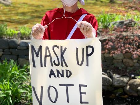 June 16, 2020: Mask up!