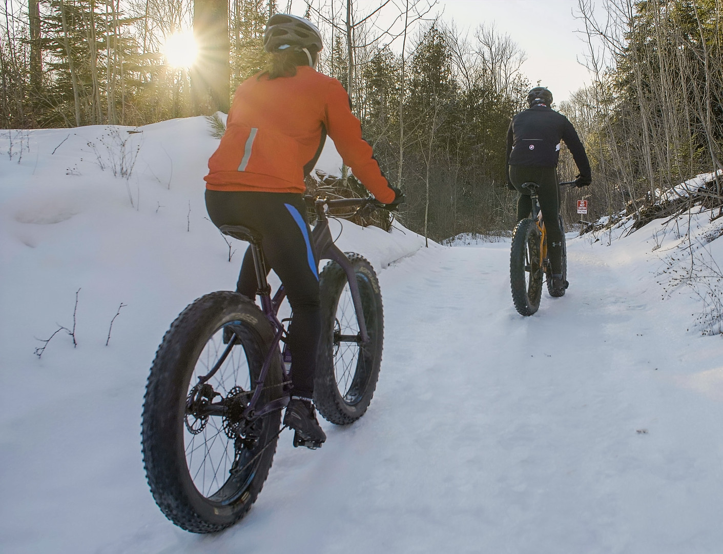 Hitting the Trails in Winter