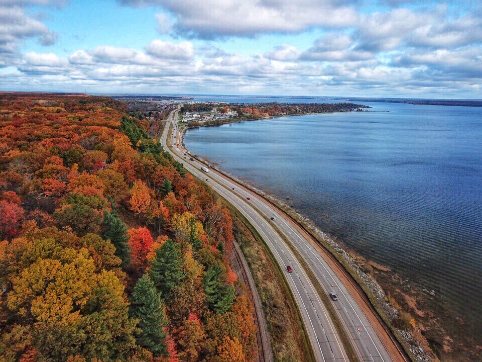Autumn on the Bay