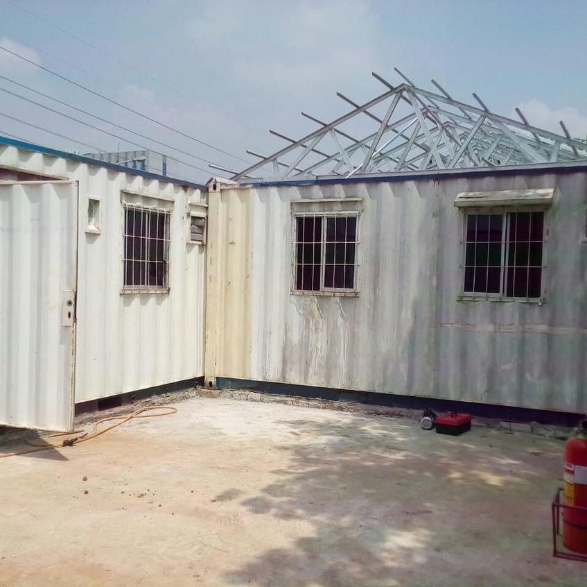 Pembangunan site office main contractor 3 (28 Agustus 2018)