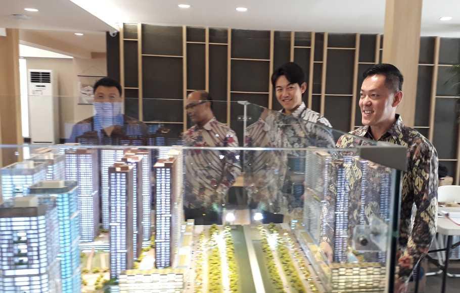 "CBD Vasanta Innopark akan menjadi ""Kota Jepang"" di Kawasan Industri MM2100, Cikarang. ( Foto: Beritasatu Photo / Mikael Niman )"