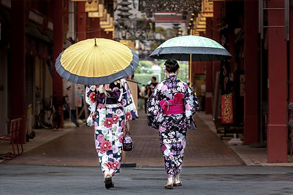 Genuine Integrated Japanese Town in the