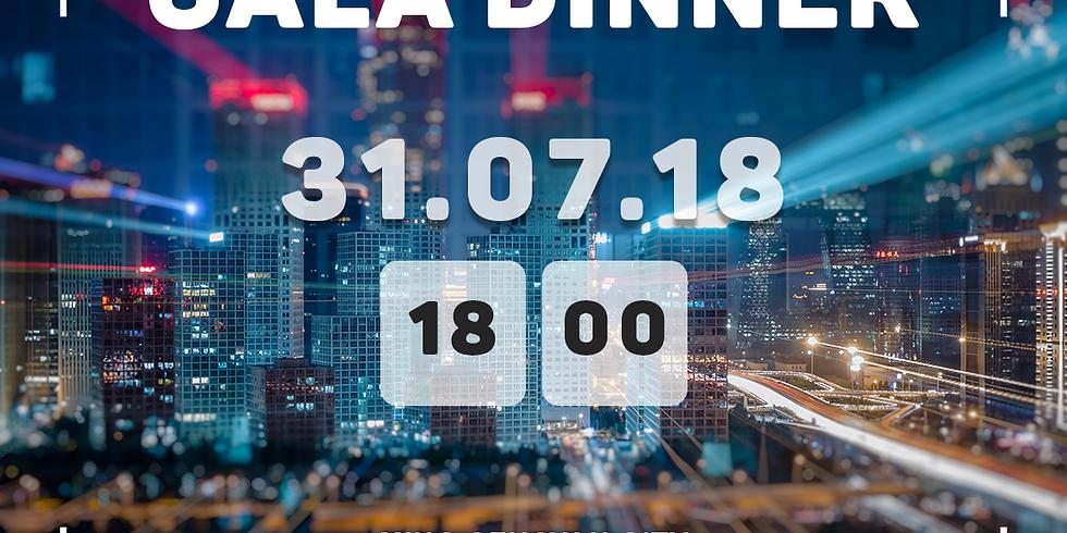 Gala Dinner at MING SENAYAN CITY, 31 July 2018