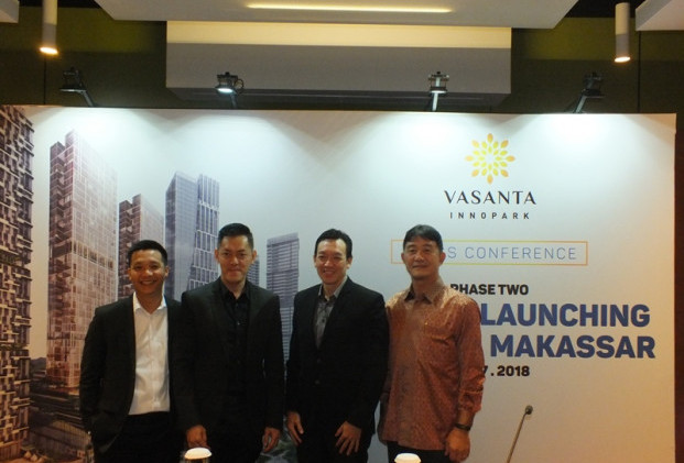 Launching tower Botan Vasanta Innopark