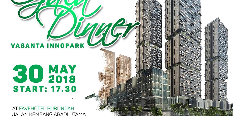 Gala Dinner at Favehotel Puri Indah, Jakarta, 30 Mei 2018