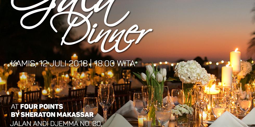 Gala Dinner at Four Points, Makassar 12 Juli 2018