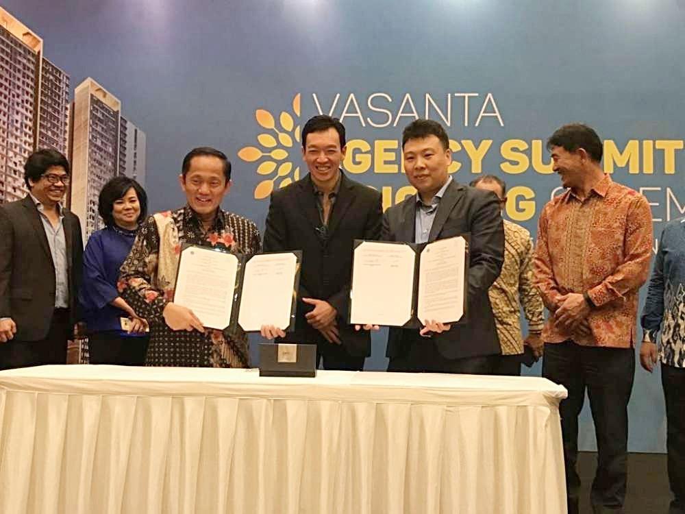 Vasanta Innopark - Institut Teknologi Bandung (ITB) Signing Ceremony