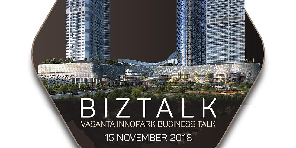Business Talk at Seribu Rasa Central Park - 15 November 2018