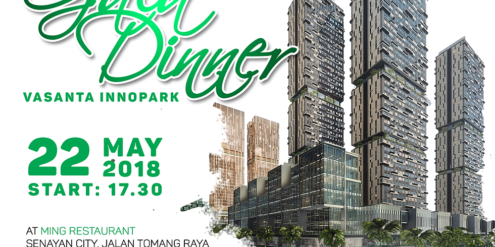 Gala Dinner at Ming Restaurant, 22 May 2018