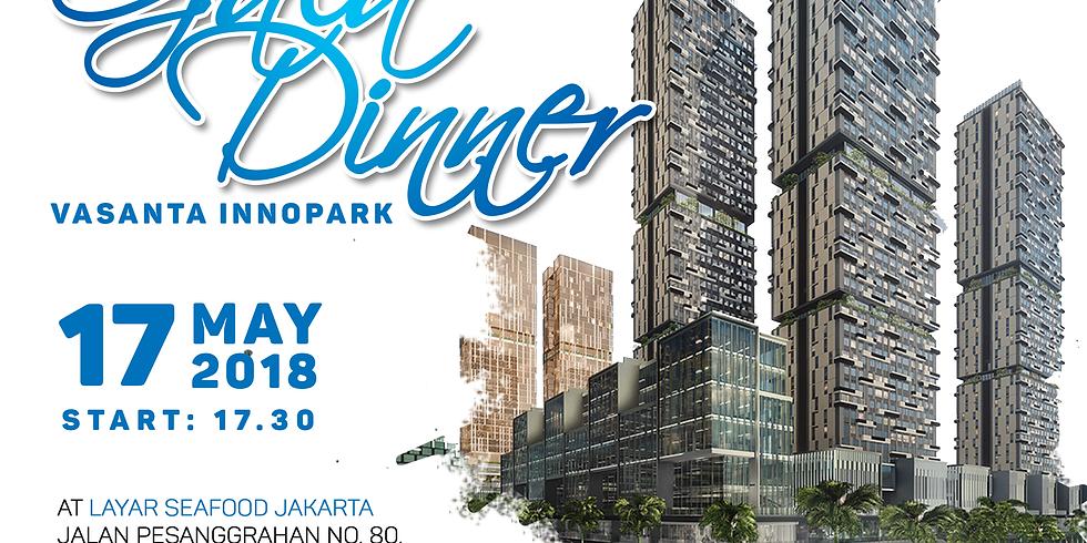 Gala Dinner at Layar Seafood Jakarta, 17 May 2018