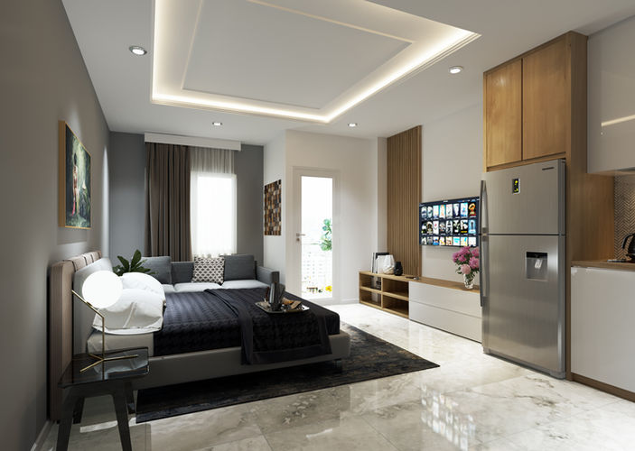 Studio - Vasanta Innopark Apartemen Cika