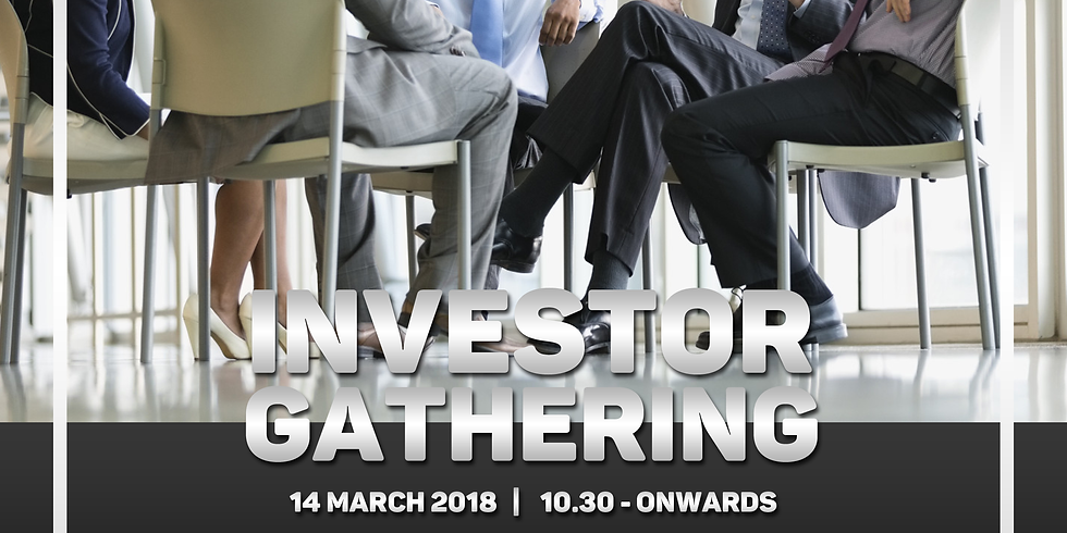 Investor Gathering 14 Maret 2018