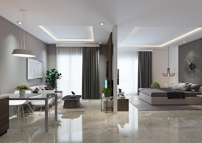 2 Bedroom - Vasanta Innopark Apartemen C