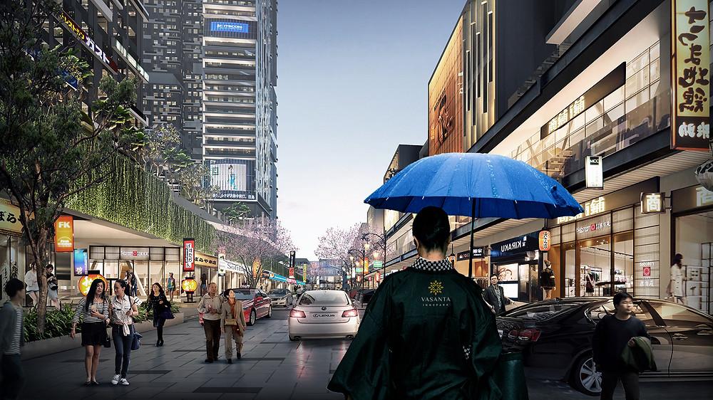 Japanese Shopping Street Sepanjang 1,5 Km