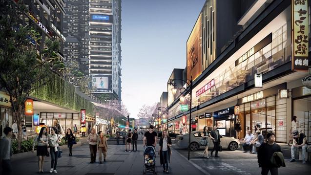 Shopping Street Vasanta Innopark