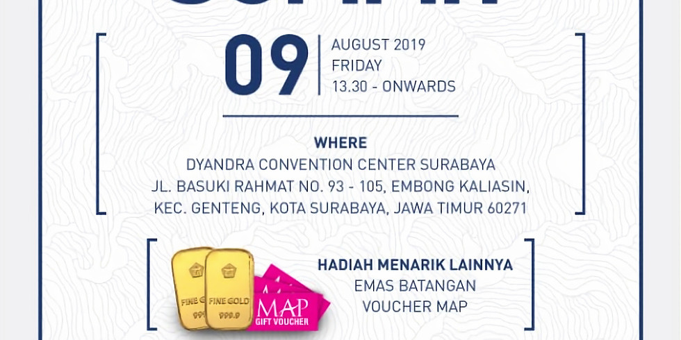 Vasanta Agent Summit, 9 August 2019, Surabaya
