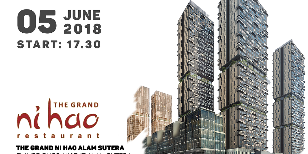 Gala Dinner at The Grand Ni Hao, Jakarta, 5 Juni 2018