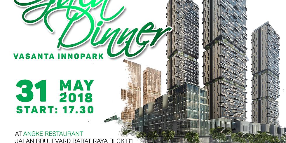 Gala Dinner at Angke Restaurant, Jakarta, 31 Mei 2018