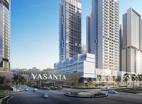 Apartemen Vasanta Innopark Topping Off Tepat Waktu