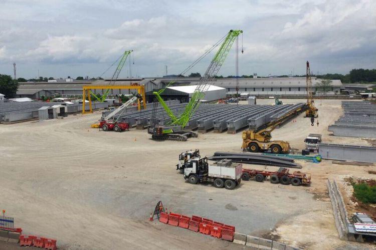 Pekerjaan konstruksi Tol Jakarta Cikampek Elevated (Jasa Marga)