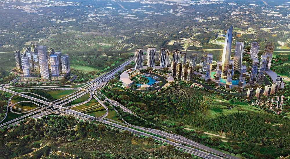 Vasanta Innopark Cikarang, CBD di tengah kawasan industri yang ramah lingkungan