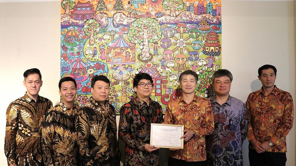 Vasanta sebagai salah satu pengembang properti di Indonesia bekerjasama GS Engineering & Construction (GS E&C) asal Korea Selatan mengembangkan sebuah hunian apartemen di kawasan, Daan Mogot, Jakarta Barat.