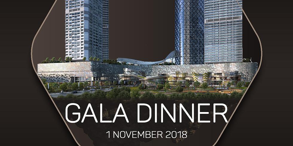 Gala Dinner at Aston Imperial Bekasi Hotel & Conference Center - 1 November 2018