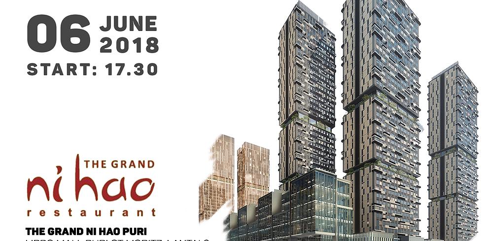 Gala Dinner at The Grand Ni Hao, Jakarta, 6 Juni 2018