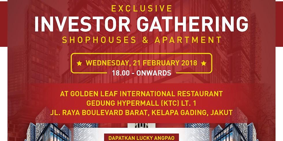 Investor Gathering 21 Februari 2018
