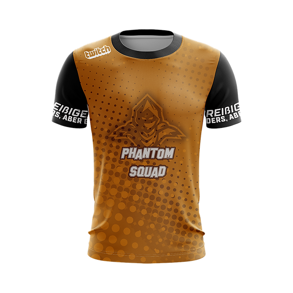 Clan Shirt Phantom gold schwarz.png