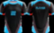 Shockwave Esports Jersey Design blau schwarz grau kostenlos