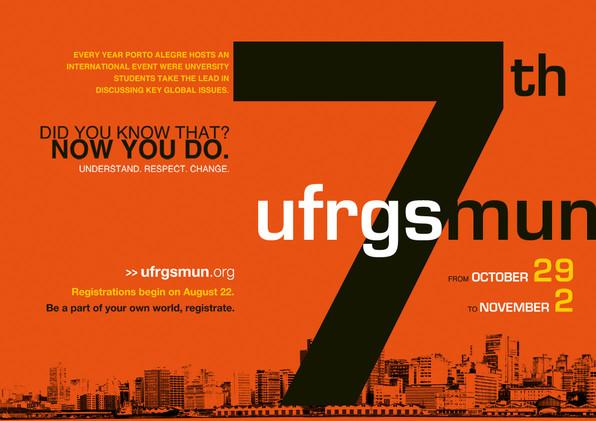 Cartaz UFRGSMUN