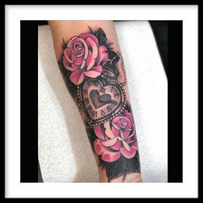 ROSES AND POCKET WATCH
