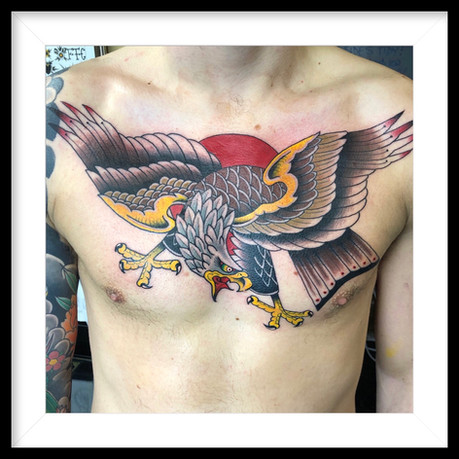 TRADITIONAL EAGLE CHEST PIECE