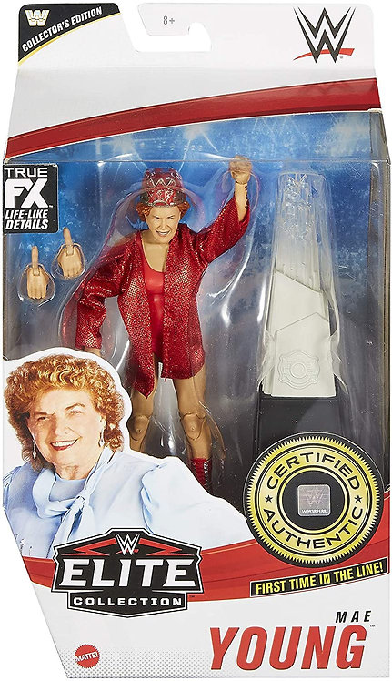 MAE YOUNG - WWE Elite 81 Exclusive