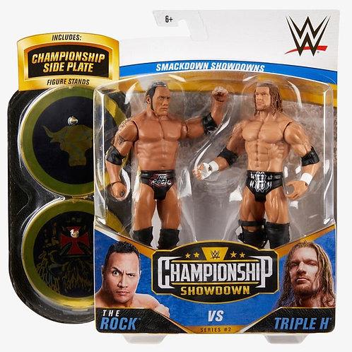 The Rock VS Triple H - Championship Showdown Series #2
