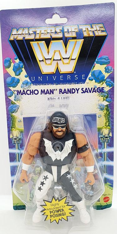 MACHO MAN RANDY SAVAGE - WWE Masters of the WWE Universe Action Figure