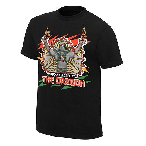 RICKY STEAMBOAT NEON COLLECTION GRAPHIC T-SHIRT