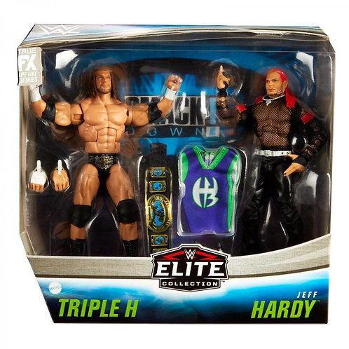 TRIPLE H & JEFF HARDY ELITE 2 PACK