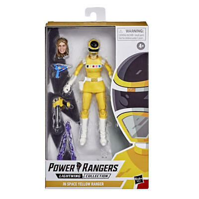 Power Rangers Lightning Collection - IN SPACE YELLOW RANGER
