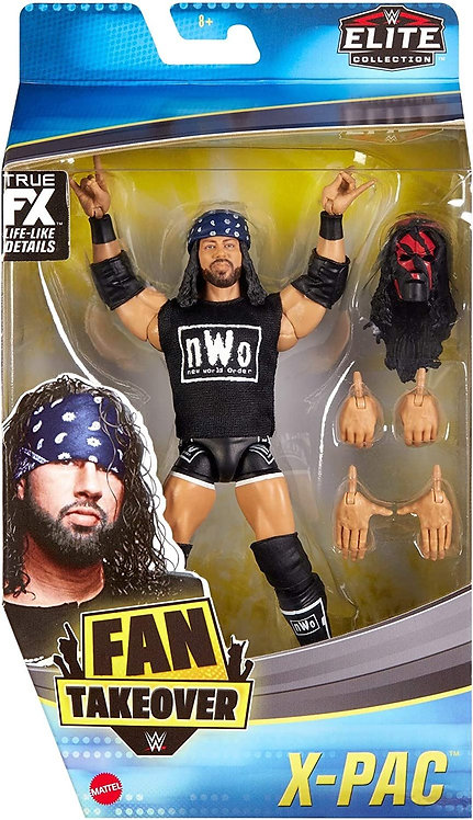 X-PAC- FAN TAKEOVER EXCLUSIVE *MINOR BOX DAMAGE*