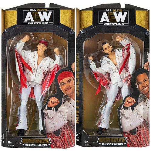The Young Bucks - Nick & Matt Jackson - AEW Unrivaled Series 1 Wrestling Figures