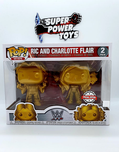 RIC AND CHARLOTTE FLAIR 2-PACK FUNKO POP VINYL