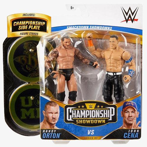 John Cena VS Randy Orton - Championship Showdown Series #2