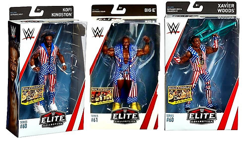 THE NEW DAY - ELITE 60 & 61 - SET OF 3