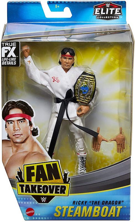 RICKY 'THE DRAGON' STEAMBOAT - FAN TAKEOVER EXCLUSIVE ELITE *minor box wear*